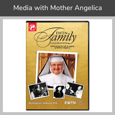 Media with Mother Angelica