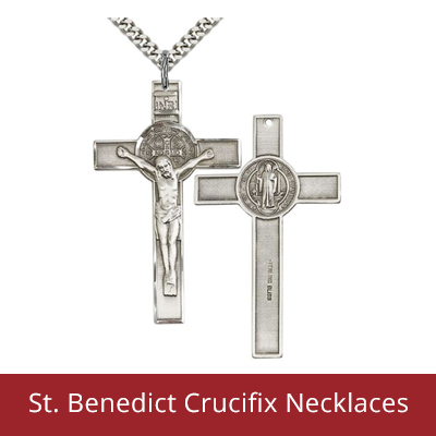 Illness - Saint Benedict Crucifix Necklaces