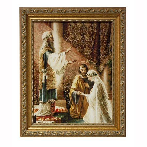 Marriage Of Mary And St Joseph Framed