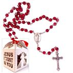 DIVINE MERCY ROSARY IN FANCY BOX - 2