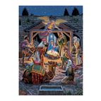 HOLY NIGHT 500-PIECE GLITTER PUZZLE - 1