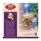 THREE MAGI 500-PIECE GLITTER PUZZLE - 4