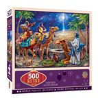 THREE MAGI 500-PIECE GLITTER PUZZLE - 3