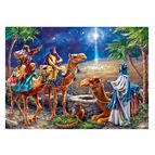 THREE MAGI 500-PIECE GLITTER PUZZLE - 2