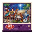 THREE MAGI 500-PIECE GLITTER PUZZLE - 1