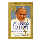 WITNESS TO HOPE:THE BIOGRAPHY OF POPE JOHN PAUL II - 1