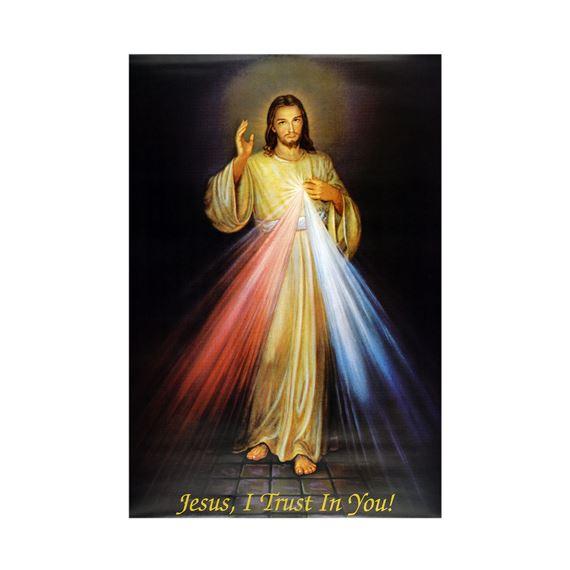 Bundles of Divine Mercy Image Print Picture Jesus Christ Miraculous Devotion