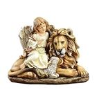 ANGEL WITH LION AND LAMB - 1