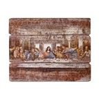 LAST SUPPER - 3 PANEL PLAQUE - 1