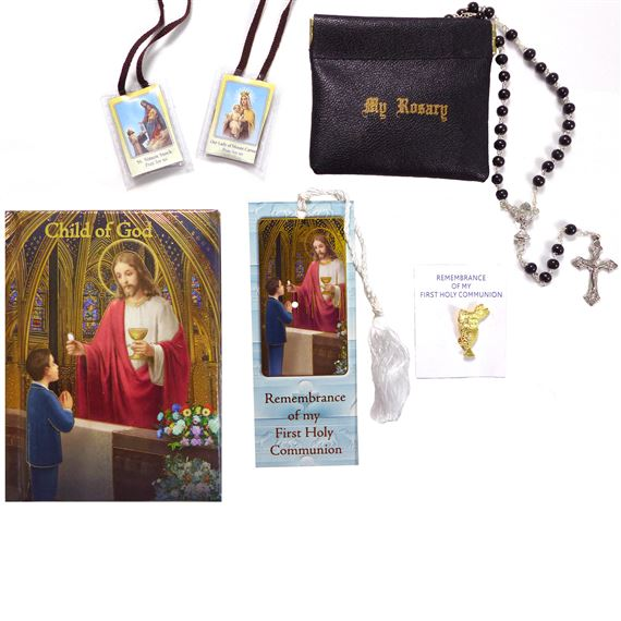 Deluxe First Communion Gift Set - Boy's