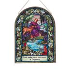 ST. FRANCIS OF ASSISI - DECORATIVE GLASS - 1