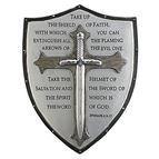 ARMOR OF GOD WALL PLAQUE - 1