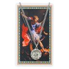 ST. MICHAEL PENDANT & PRAYER CARD - 1