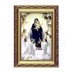 "OUR LADY OF THE ANGELS FRAMED ARTWORK - 16"" x 24"" - 1"