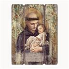 ST. ANTHONY OF PADUA - PANEL PLAQUE - 1