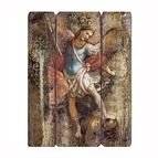 ST. MICHAEL - PANEL PLAQUE - 1