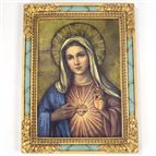 IMMACULATE HEART OF MARY PLAQUE - 1