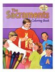 COLORING BOOK ABOUT THE SACRAMENTS - 1