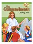 COLORING BOOK ABOUT THE COMMANDMENTS - 1