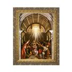 THE PENTECOST BY TITIAN - FRAMED PRINT - 1