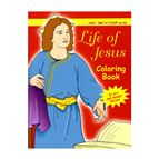LIFE OF JESUS COLORING BOOK - 1