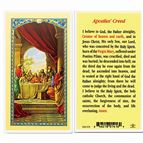 LAMINATED HOLY CARD - APOSTLE'S CREED - 1