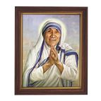 ST. TERESA OF CALCUTTA - BROWN FRAME - 1