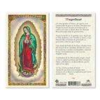 LAMINATED HOLY CARD - MAGNIFICAT (GUADALUPE) - 1