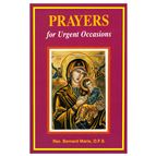 PRAYERS FOR URGENT OCCASIONS - 1