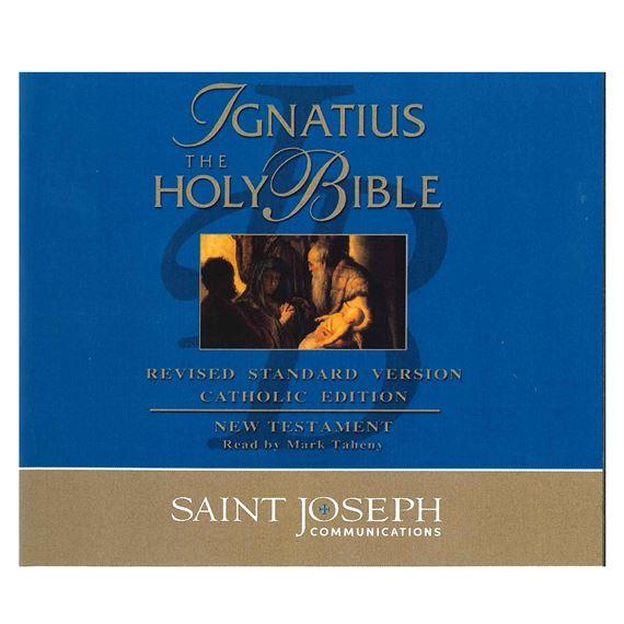IGNATIUS AUDIO BIBLE NEW TESTAMENT14 CD SET