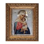 VIRGIN OF HOPE FRAMED WITH CRYSTAL ACCENTS - 1