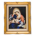 MADONNA AND CHRIST CHILD FRAMED ARTWORK - 1