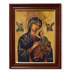 OUR LADY OF PERPETUAL HELP IN DARK FRAME - 1
