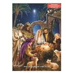 SHINING LIGHT ADVENT CALENDAR WITH CHOCOLATES - 1