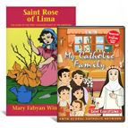 ST. ROSE OF LIMA CHILDREN'S BOOK & DVD SET - 1