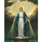 OUR LADY OF GRACE - UNFRAMED PRINT 8 X 10 - 1