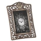 ANTIQUED FILIGREE CONFRIMATION FRAME - 1