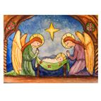 CHILDREN'S ROSARY CHRISTMAS CARDS (BOX OF 25) - 1