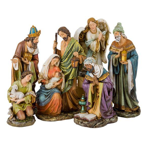 Six Piece Nativity Set 16 Inch Ewtn