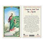 HOLY CARD COLLECTION BOOK W/ 5 FREE HOLY CARDS - 6