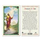 HOLY CARD COLLECTION BOOK W/ 5 FREE HOLY CARDS - 7