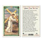 LAMINATED HOLY CARD - SPLINTERS FROM THE CROSS - 1