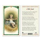 LAMINATED HOLY CARD - LITTLE GUEST - 1