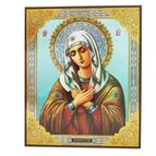 VIRGIN OF EXTREME HUMILITY ICON - 1