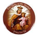 OUR LADY OF MT. CARMEL MAGNET - 1