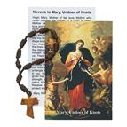 OUR LADY UNDOER OF KNOTS SINGLE DECADE ROSARY - 1