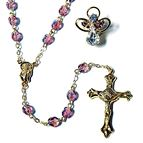 BIRTHSTONE ROSARY & PIN SET - JUNE (ALEXANDRITE) - 1