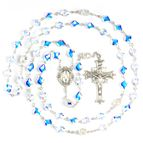 SWAROVSKI CRYSTAL ROSARY WITH BAROQUE BEADS - 1