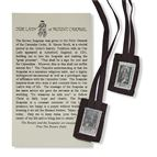 ITTY BITTY BROWN SCAPULAR - 1