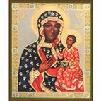 VIRGIN OF CZESTOCHOWA ICON - 1